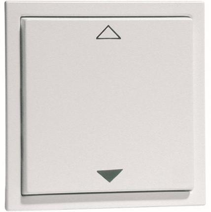 PEHA Lichtmanagement Easyclick EnOcean Wandsender AURA 2-Kanal UP/DOWN White